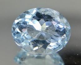 1.35 Crt Aquamarine Faceted Gemstone (R 170)