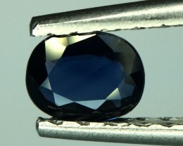0.64 Crt Natural Sapphire Unheated Faceted Gemstone (980)