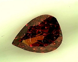 0.14ct Red  Diamond , 100% Natural Untreated