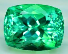 20.05 cts Lush Green Spodumene Gemstone From Afghanistan