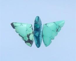 30.5ct New Design Beautiful Turquoise Intarsia Cabochon (18042216)