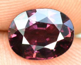 1.75 CTS oval cut Cut Extreme Rare Red Color Spinel Gemstone