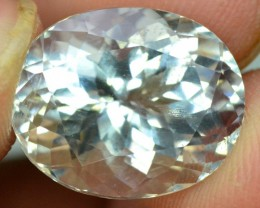 9.45 cts Oval Cut  Rare Afghan pollucite Gemstone  from afghanistan
