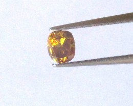 0.26cts Natural Fancy Yellowish Brown Oval Cut Diamond
