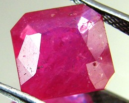 BEAUTIFUL RASBERRY RED RUBY 3.15 CTS RM 160