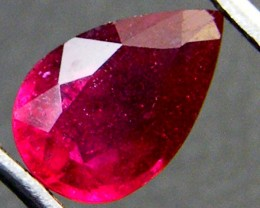 SPARKLING DEEP RASBERRY RED RUBY 1.50 CTS RM 174
