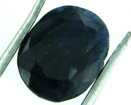 NATURAL METALLIC SHEEN BLUE SAPPHIRE STONE 5.50 CTS SGS 142