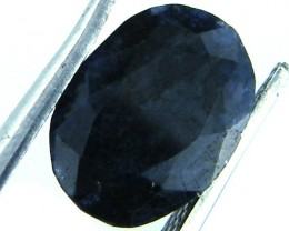 NATURAL METALLIC SHEEN BLUE SAPPHIRE STONE 3.80 CTS SGS 149