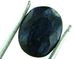 NATURAL METALLIC SHEEN BLUE SAPPHIRE STONE 4.45 CTS SGS 157