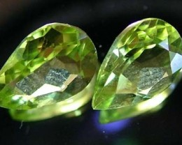 PERIDOT NATURAL FACETED STONE 1.25 CTS FN 3239 (TBG-GR)