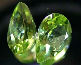 PERIDOT NATURAL FACETED STONE 1.40 CTS FN 3240 (TBG-GR)