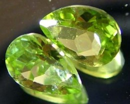 PERIDOT NATURAL FACETED STONE 1.45 CTS FN 3241 (TBG-GR)