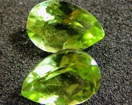 PERIDOT NATURAL FACETED STONE 1.40 CTS FN 3244 (TBG-GR)