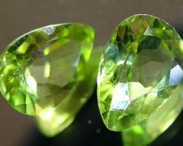 PERIDOT NATURAL FACETED STONE 1.50 CTS FN 3266 (TBG-GR)