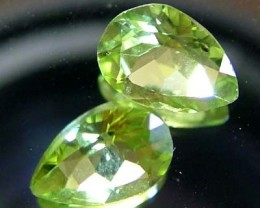 PERIDOT NATURAL FACETED STONE 1.50 CTS FN 3273 (TBG-GR)