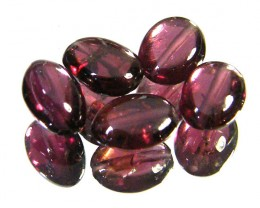 PARCEL RUBELLITE BEADS 6.55 CARATS  SGS 218
