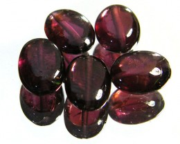 PARCEL RUBELLITE BEADS 9.90 CARATS  SGS 222