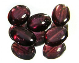 PARCEL RUBYLITE BEADS 8.20 CARATS  SGS 225