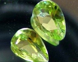 1.35 CTS PERIDOT NATURAL FACETED STONE  FN 3302 (TBG-GR)