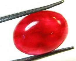 Quartz Ruby Red colour   8.55  carats   QU 187