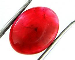 Quartz Ruby Red colour  9   carats   QU 190