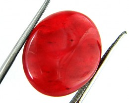 Quartz Ruby Red colour  15.75   carats   QU 191