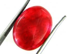 Quartz Ruby Red colour  7.50   carats   QU 194