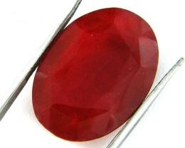 Quartz Ruby Red colour   23.15  carats   QU 206