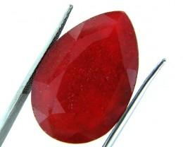 Quartz Ruby Red colour   18.15  carats   QU 207