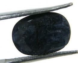 NATURAL METALLIC SHEEN BLUE SAPPHIRE STONE 4.35 CTS SGS 288