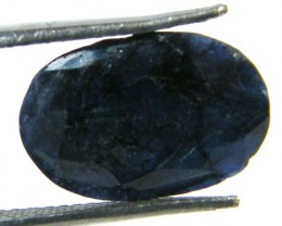 NATURAL METALLIC SHEEN BLUE SAPPHIRE STONE 6.40 CTS SGS 301