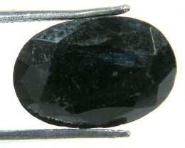 NATURAL METALLIC SHEEN BLUE SAPPHIRE STONE 7.75 CTS SGS 302