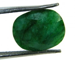 GREEN EMERALD STONE 6.65 CTS SGS 310