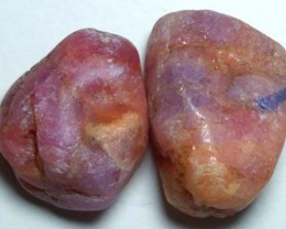 TUMBLED RUBY BEAD 59.85CTS NP-614