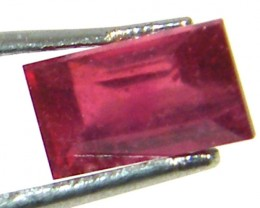 CRYSTAL CLEAR VS GRADE SPARKLING RED RUBY 1.10 CTS RM 230