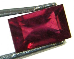 F/S CRYSTAL CLEAR VS GRADE SPARKLING REDRUBY 1.15 CTS RM 261