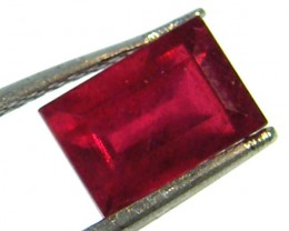 F/S CRYSTAL CLEAR VS GRADE SPARKLING REDRUBY 1.95 CTS RM 237