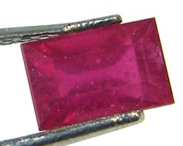 F/S CRYSTAL CLEAR VS GRADE SPARKLING REDRUBY 1.15 CTS RM 239