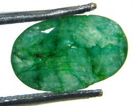GREEN EMERALD STONE 2.75 CTS SGS 333
