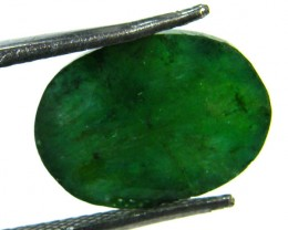 GREEN EMERALD STONE 6.70 CTS SGS 335