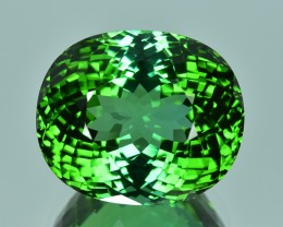36.50 Cts Mesmerizing Excellent Lustrous Top Green Natural Tourmaline