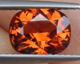 2.18cts  Mandarin Garnet,  Untreated Vivid Stone,  Clean