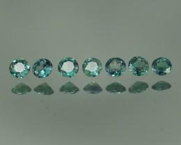 0.46 CT BEAUTIFUL BLUISH GREEN ROUND SHAPE NATURAL ALEXANDRITE LOT-AXP56