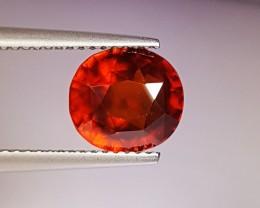 """3.95 Ct """" IGI Certified """" Marvelous Orange Oval Cut Natural Hesso"""