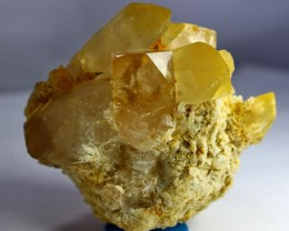 596 CT Natural - Unheated  Topaz quartz Combine Crystal Specimen