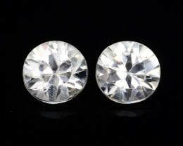 1.00 CTS AWESOME NICE ROUND  NATURAL ZIRCON FACET GENUINE