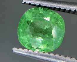 1.10 Crt Tsavorite Green Garnet Faceted Gemstone (R 171)