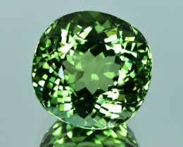 15.18 Cts Beautiful Attractive Lustrous Natural Green Tourmaline
