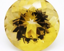 307.70ct Round Cut Remarkable Jewellery Grade Citrine - Superb size (huge)