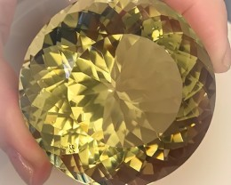 920.00ct EXCEPTIONAL CITRINE - CERTIFIED HUGE SIZE  QUALITY GEM